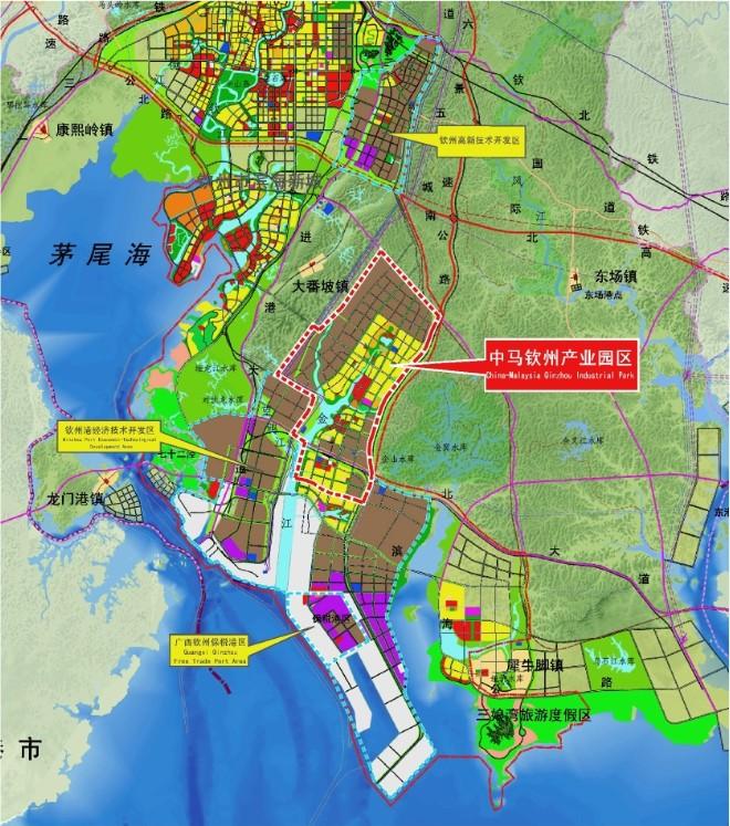 广西中马钦州产业园开发公司-投资环境